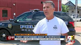 First responder night in Norwood