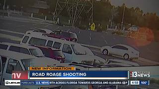 Road rage shooting suspect arrested, victim in hospital