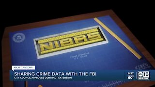 Sharing crime data with the FBI
