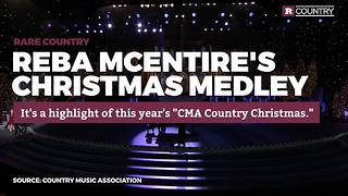 Reba McEntire's Christmas Medley | Rare Country - Video