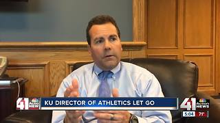 KU dismisses athletic director
