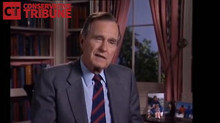 Watch as True War Hero George H.W. Bush Shares What His WWII Combat Was Like - Video
