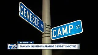 One person taken to ECMC after late night shooting - Video