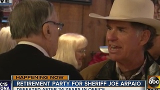 Retirement party held for Sheriff Joe Arpaio - Video