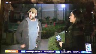 Bakersfield native chases down suspected arsonist in southern California - Video