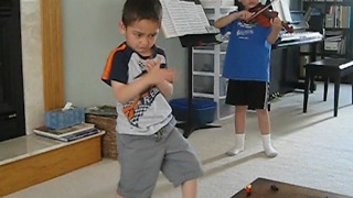 This Kid Has Some Serious Dance Moves - Video
