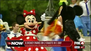 6 Disney parks on 2 coasts in 1 day - Video