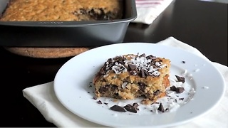Chocolate Chip Quinoa Bake