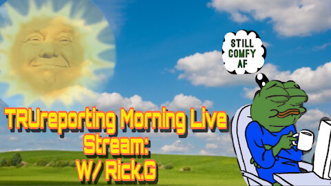 TRUreporting Live Saturday Morning Show With Rick G!
