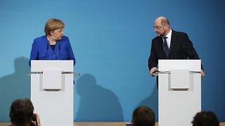 Germany's 2 Rival Political Parties Agree To Coalition Talks - Video