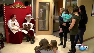 Holiday dinner comes early for sick children and their families