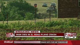El Reno plane crash - Video