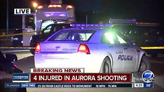 Four wounded in Aurora shooting