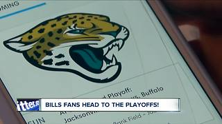 """Bills fan gears up for Jacksonville: """"I'll drive if I have to"""" - Video"""