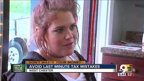 How to avoid last-minute tax mistakes