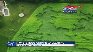 Crop circles found on Wisconsin farm? - Video