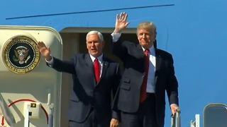 FULL VIDEO: President Trump arrives in Phoenix - Video