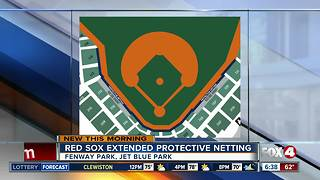 JetBlue and Fenway parks to expand protective netting - Video