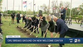 ORU breaks ground on new welcome center
