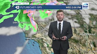 13 First Alert Las Vegas evening forecast | November 15, 2020