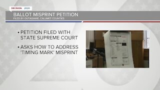 Ballot misprint petition