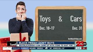 What NOT to Buy on Black Friday - Video