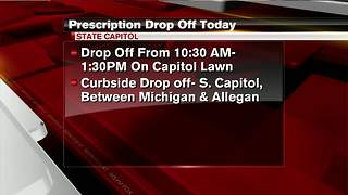 Medication disposal event in Lansing - Video