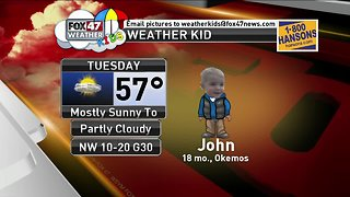 Weather Kid - John - 4/9/19