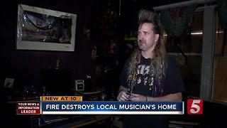 Benefit Concert Set For Local Musician Who Lost Home In Fire - Video