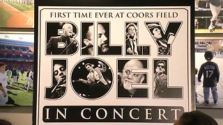 Billy Joel will perform at Coors Field in 2019 - Video