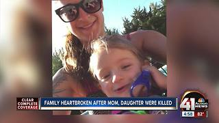 Family heartbroken after mother, daughter killed