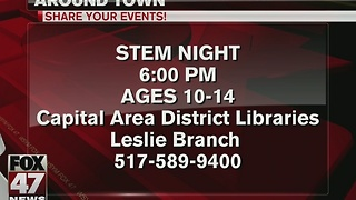 Around Town 1/9/17: STEM night at CADL in Leslie - Video