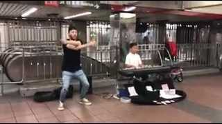 Incredible Piano and Dance Collaboration Entertains New Yorkers - Video