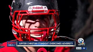 Jupiter Christian standout overcomes adversity