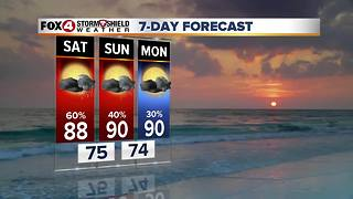 High Rain Chances This Weekend 9-29 - Video
