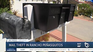 Neighbor worried about mail theft in Rancho Penasquitos