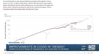 Experts find improvements in COVID-19 data
