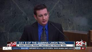 Sabrina Limon trial day 8 - Video