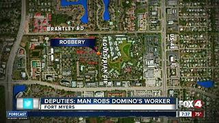 Man Says He was Robbed While Out Delivering Pizzas