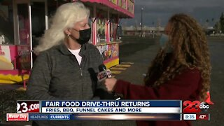 Kern County Fair Food Drive-thru is back for the last two weekends in January