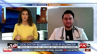 Local Doctor says a new COVID-19 vaccine will not have harsh chenmicals