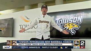 New Towson baseball coach: 'Welcome to the jungle, baby!' - Video