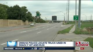 Omaha Police locate truck from deadly hit and run - Video