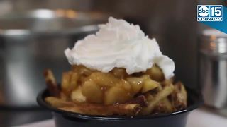 Apple Pie Fries? Pizza Fries? The American Poutine Co. offers expanded poutine cuisine - Video