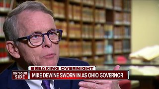Mike DeWine sworn in as Ohio governor