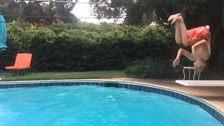 45 Epic Diving Board Fails - Video