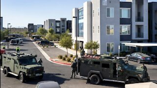 Four dead, including a possible suspect, after shootings in Henderson, Nevada