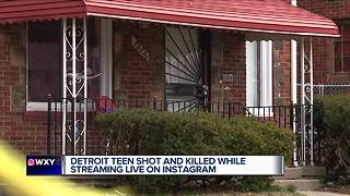 Detroit man shot and killed while live on Instagram - Video