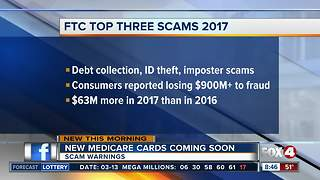 New medicare cards in the mail could mean new scams - Video