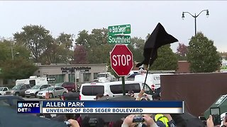 Street named after Bob Seger to be unveiled in metro Detroit - Video
